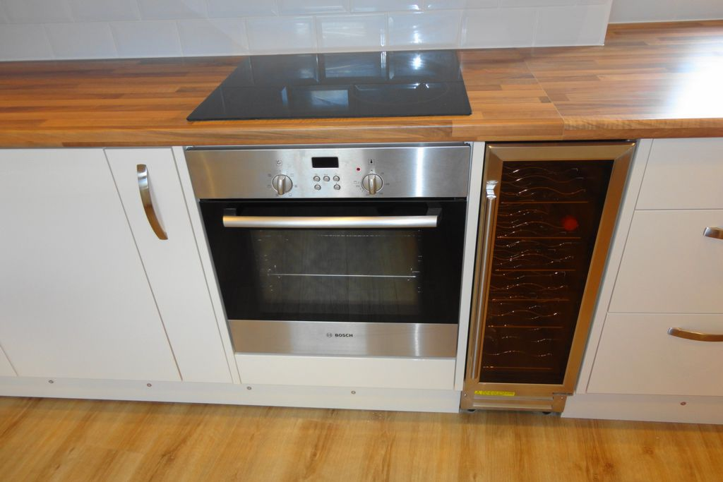 Oven and Wine Cooler