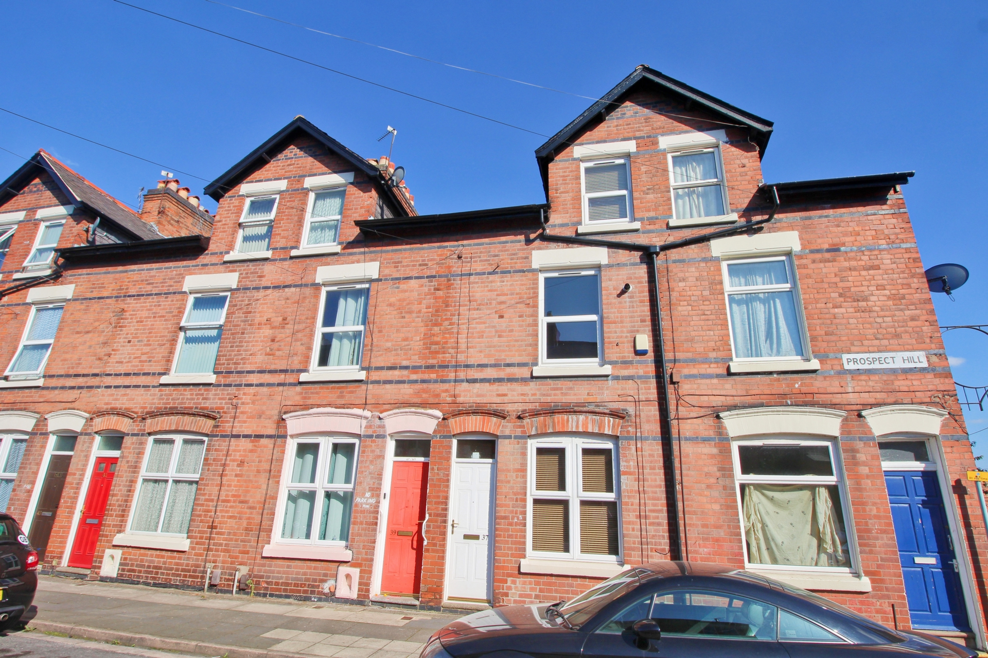 Front, Prospect Hill, Leicester, LE5