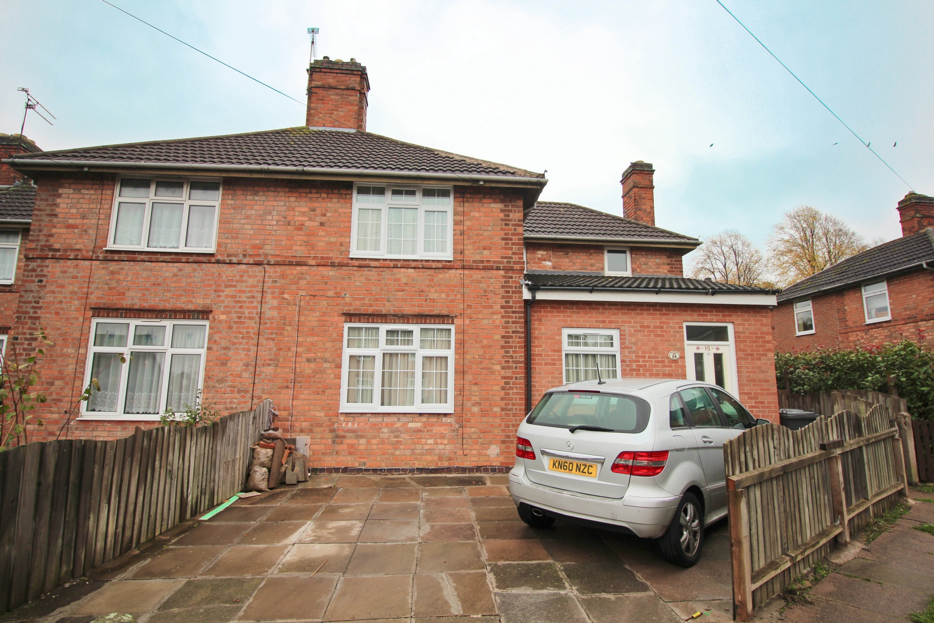 Front, The Wayne Way, Leicester, LE5