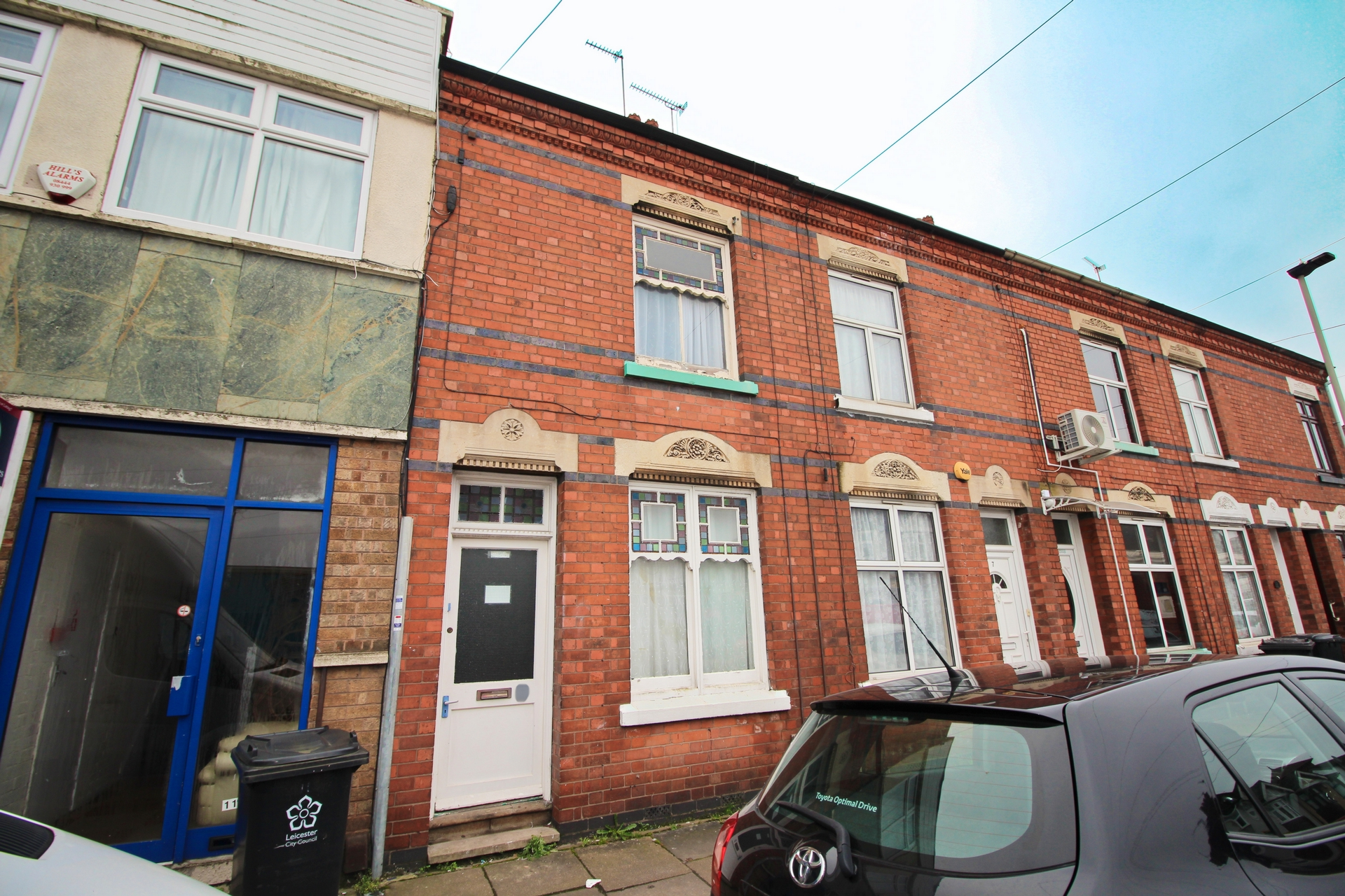 Front, Copdale Road, Leicester, LE5