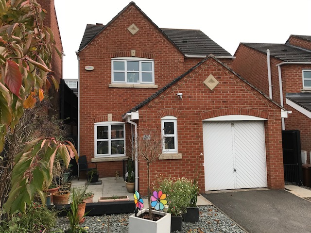 Oak Close  Castle Gresley  DE11