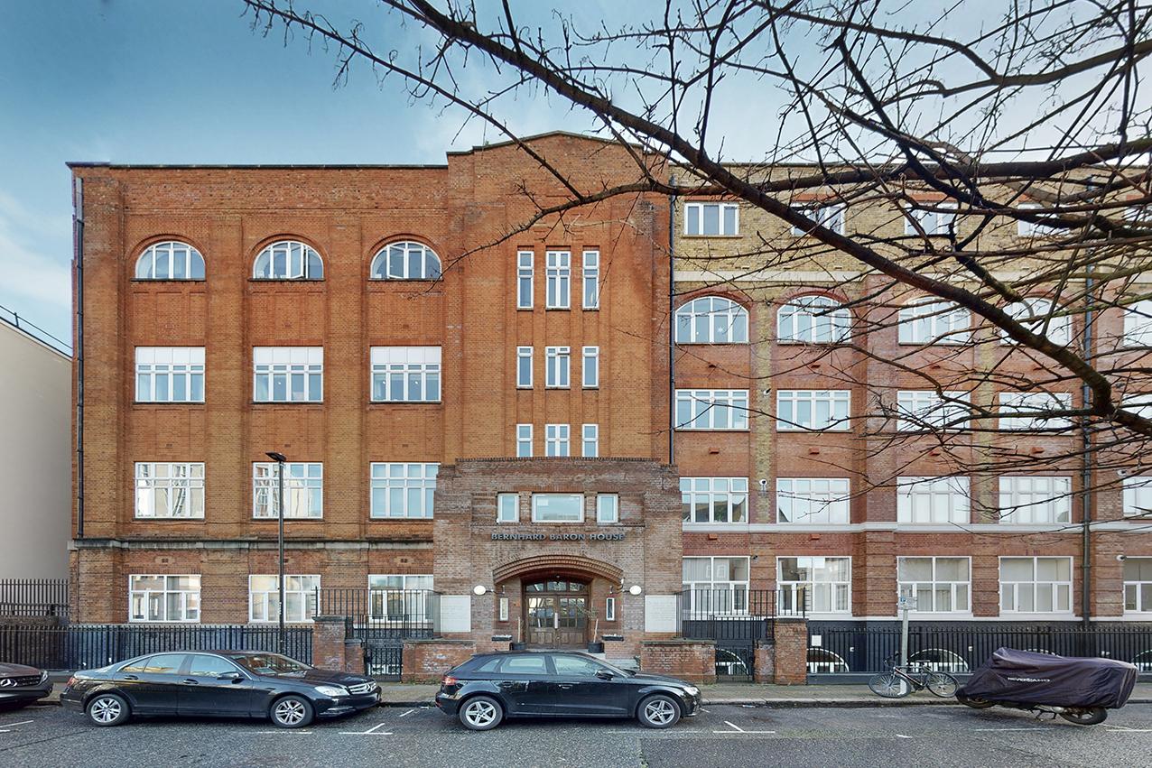 Bernhard Baron House, Henriques Street  Aldgate - Commercial Road  E1