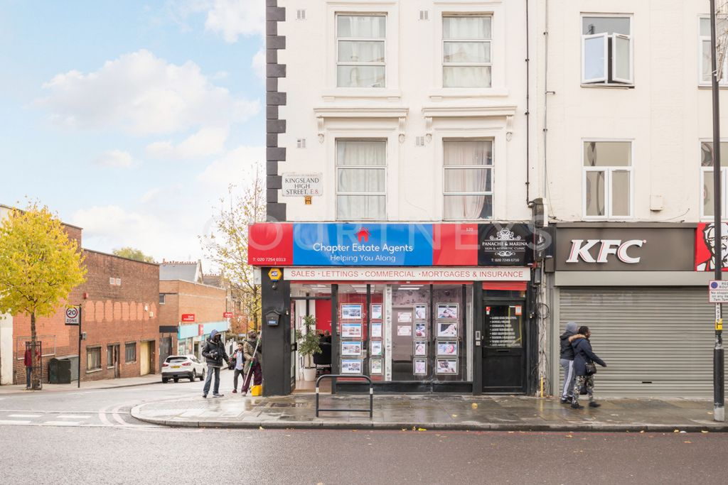 Kingsland High Street  London  E8