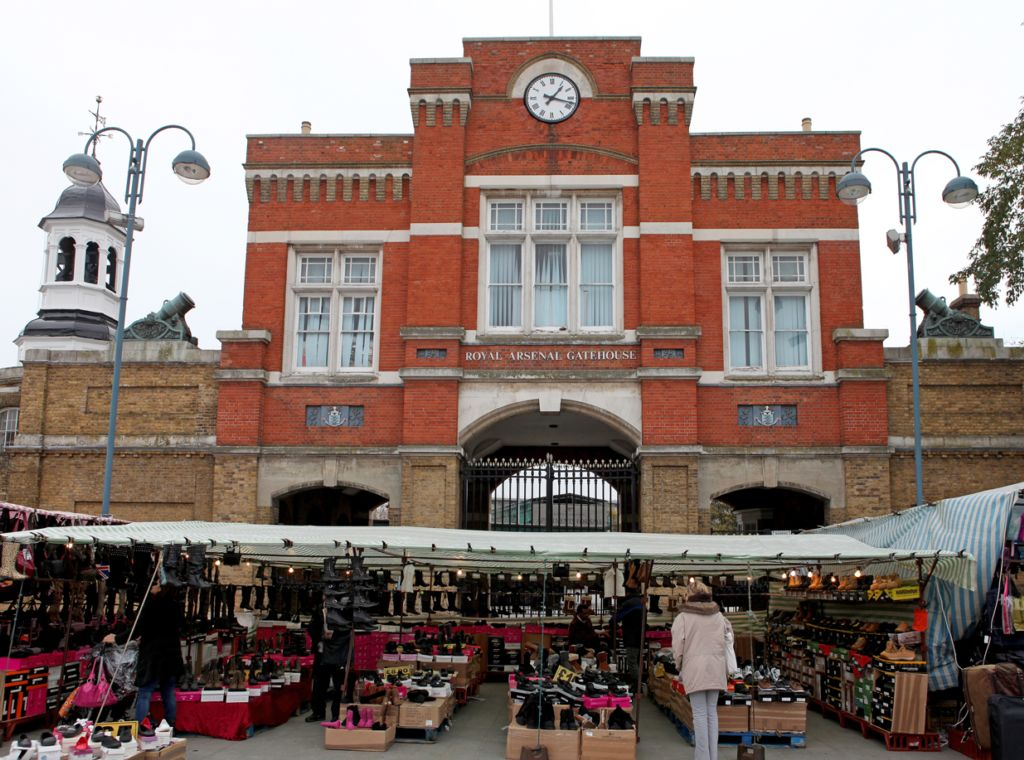 Beresford Square  Woolwich  SE18