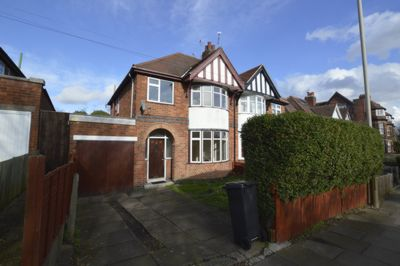 FRONT, Glenfield Road, Leicester, LE3