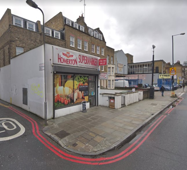 Homerton High Street  London  E9