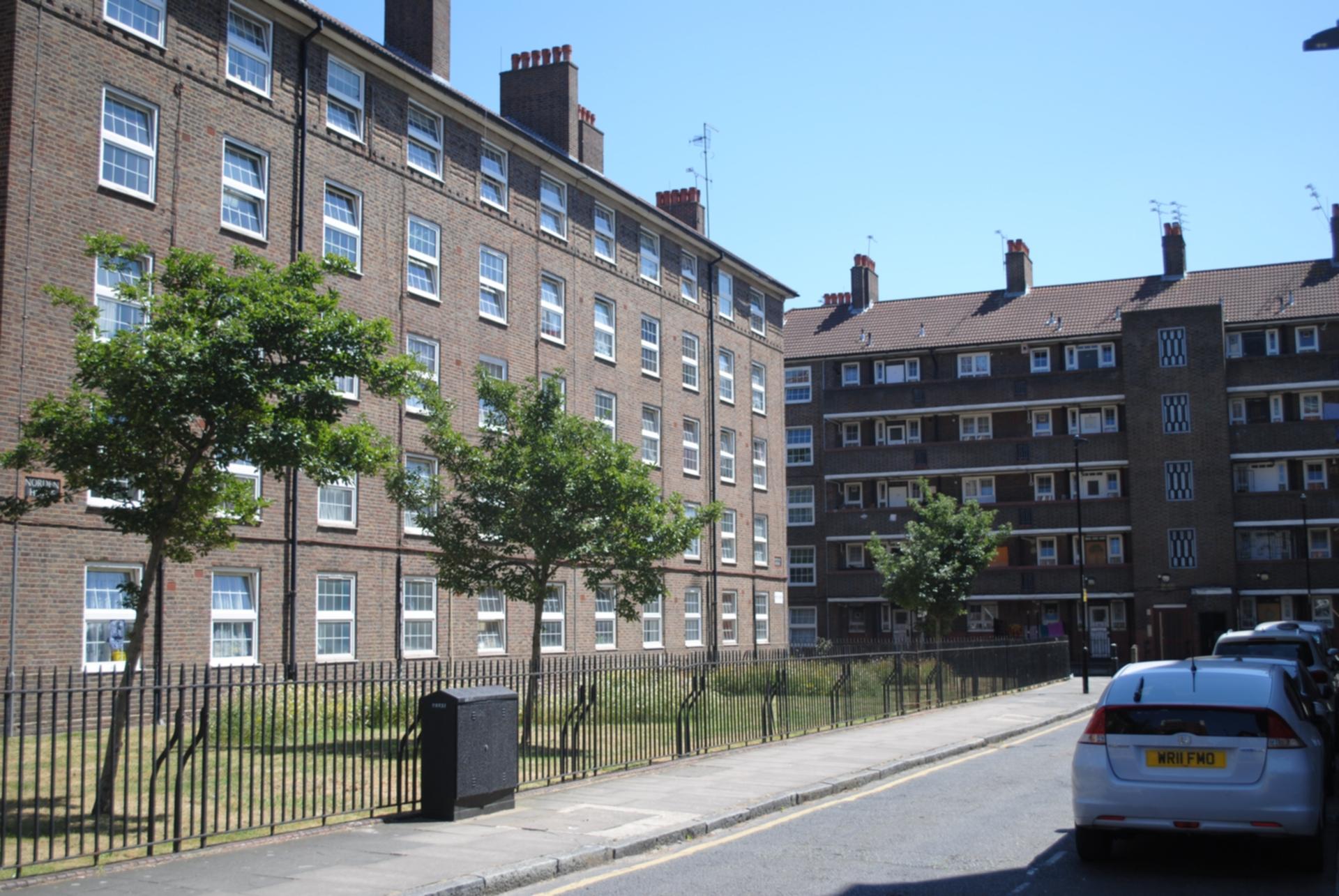 Pott Street  London  E2
