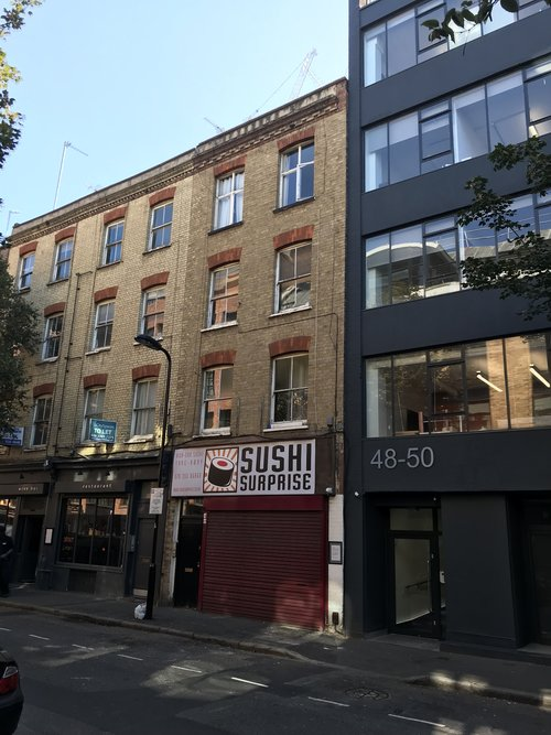 Scrutton Street  Shoreditch  EC2A