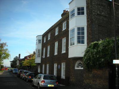 Dartmouth Hill  Greenwich  London  SE10