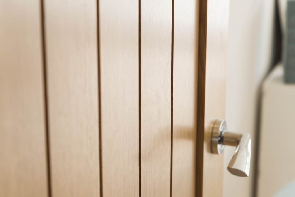 Oak door -