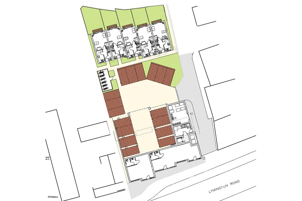 Site Plan -