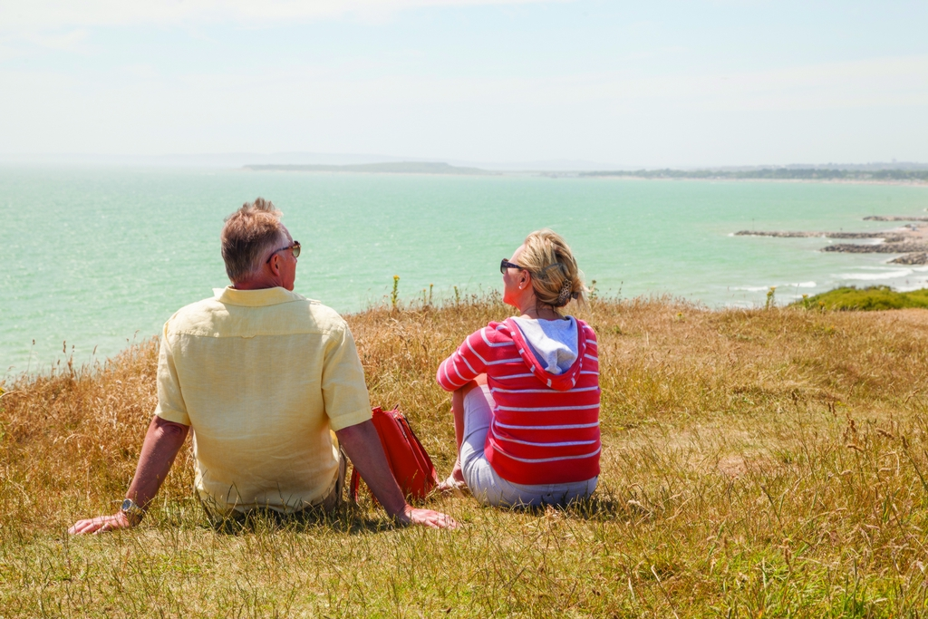 Highcliffe Cliff Top -