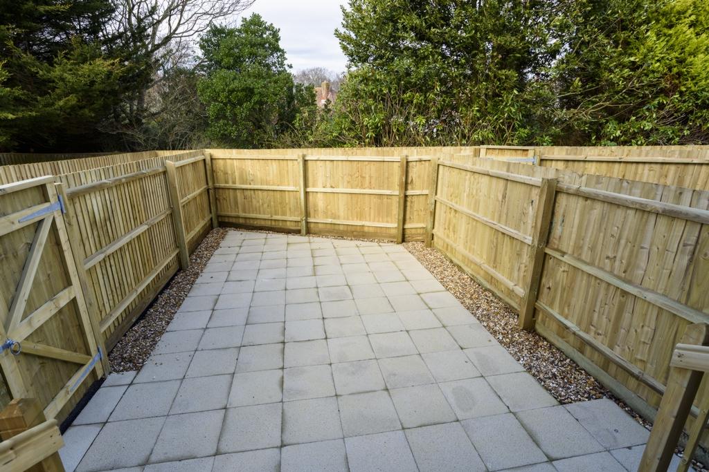 back garden -