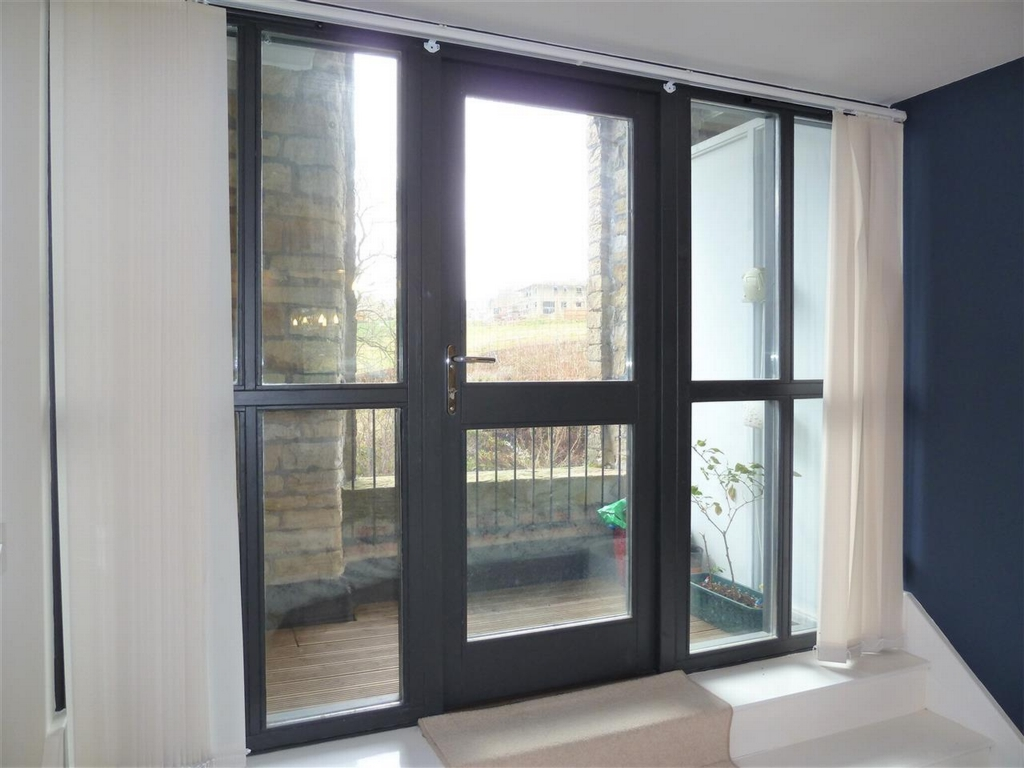 Double Glazed Door to Balcony