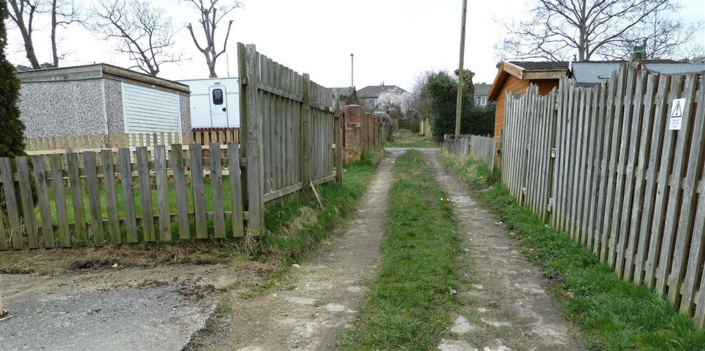 Private Lane To Rear Of The Property