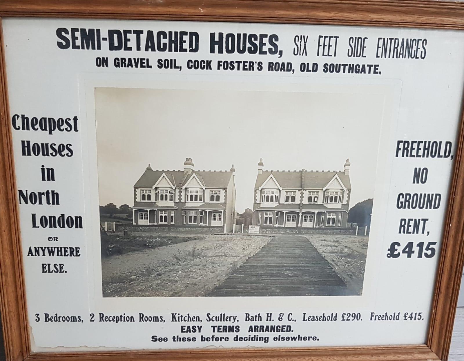 Original advert - De Bohun