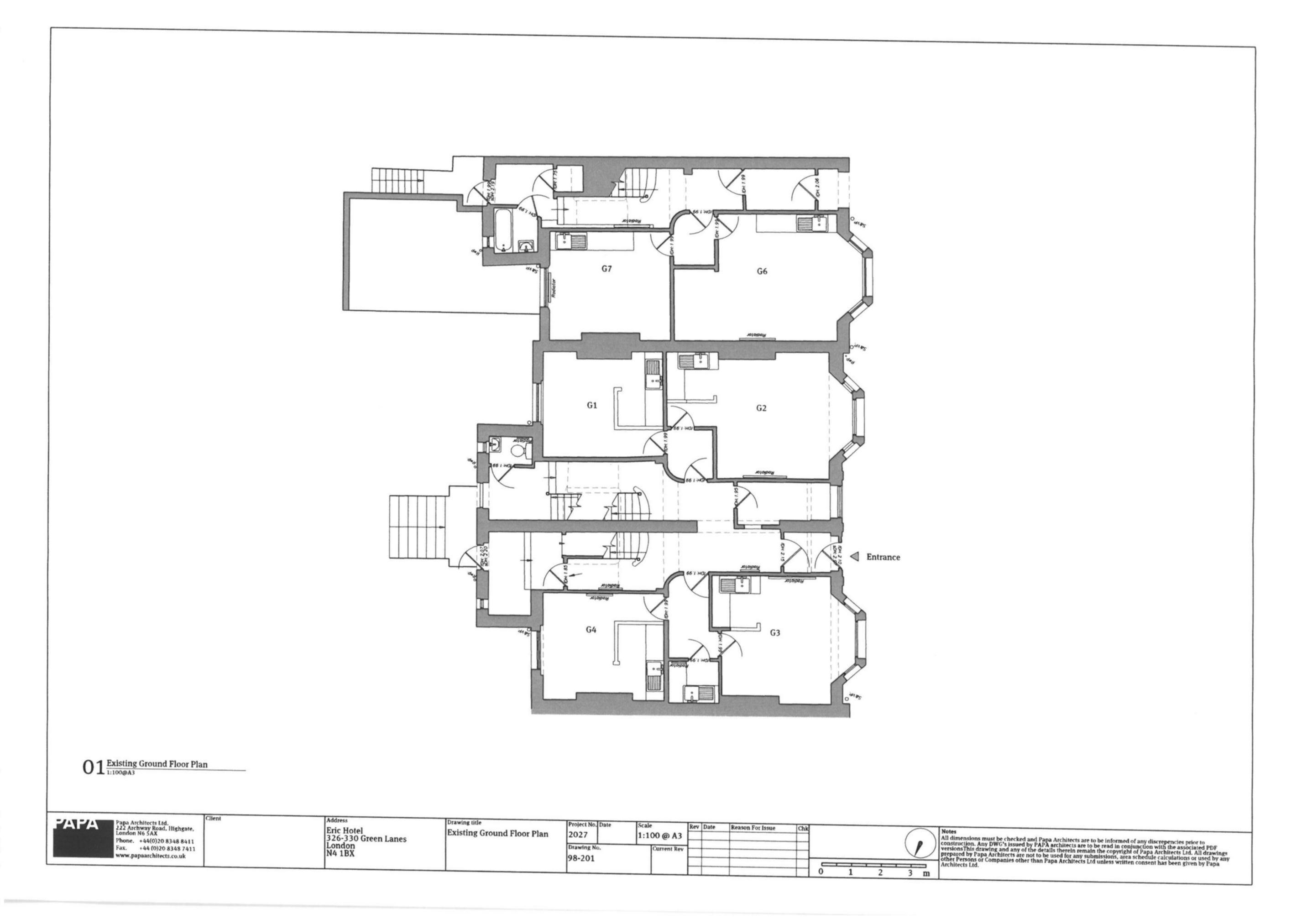 Existing Ground Floor