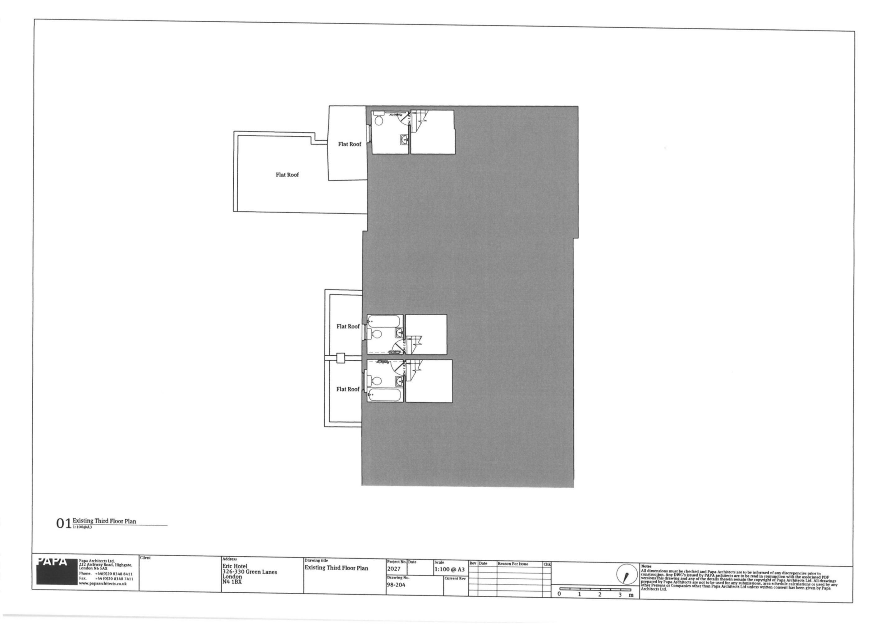 Existing Third Floor
