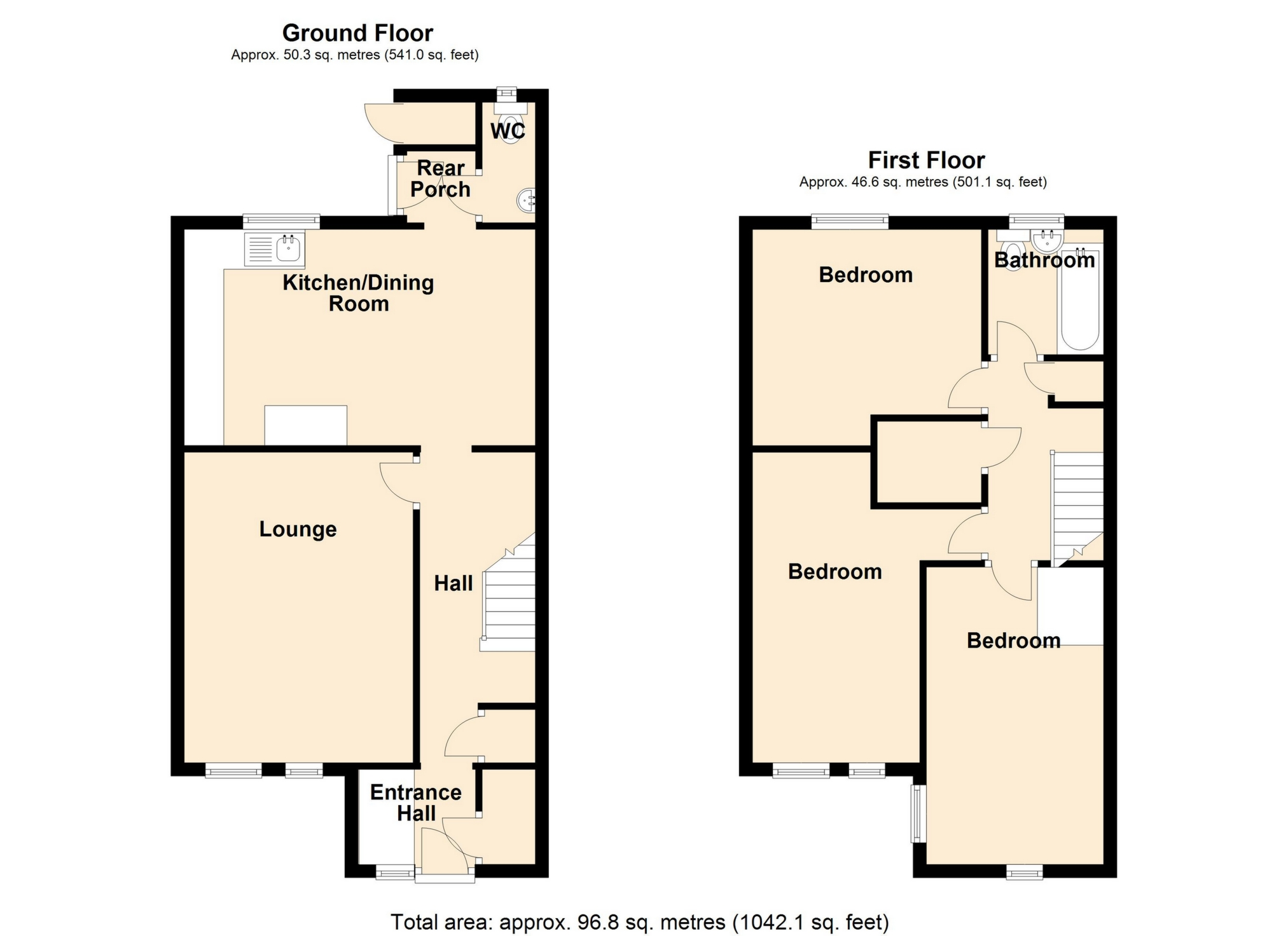 Combined Floor plan