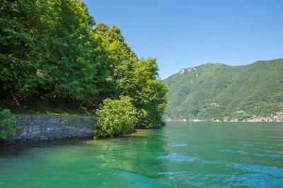 Valsolda  Lake Lugano  Italy