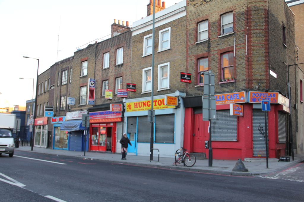 Commercial Road  Limehouse  E1