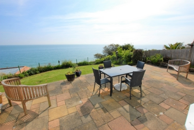 View from terrace, Radnor Cliff, Sandgate, CT20