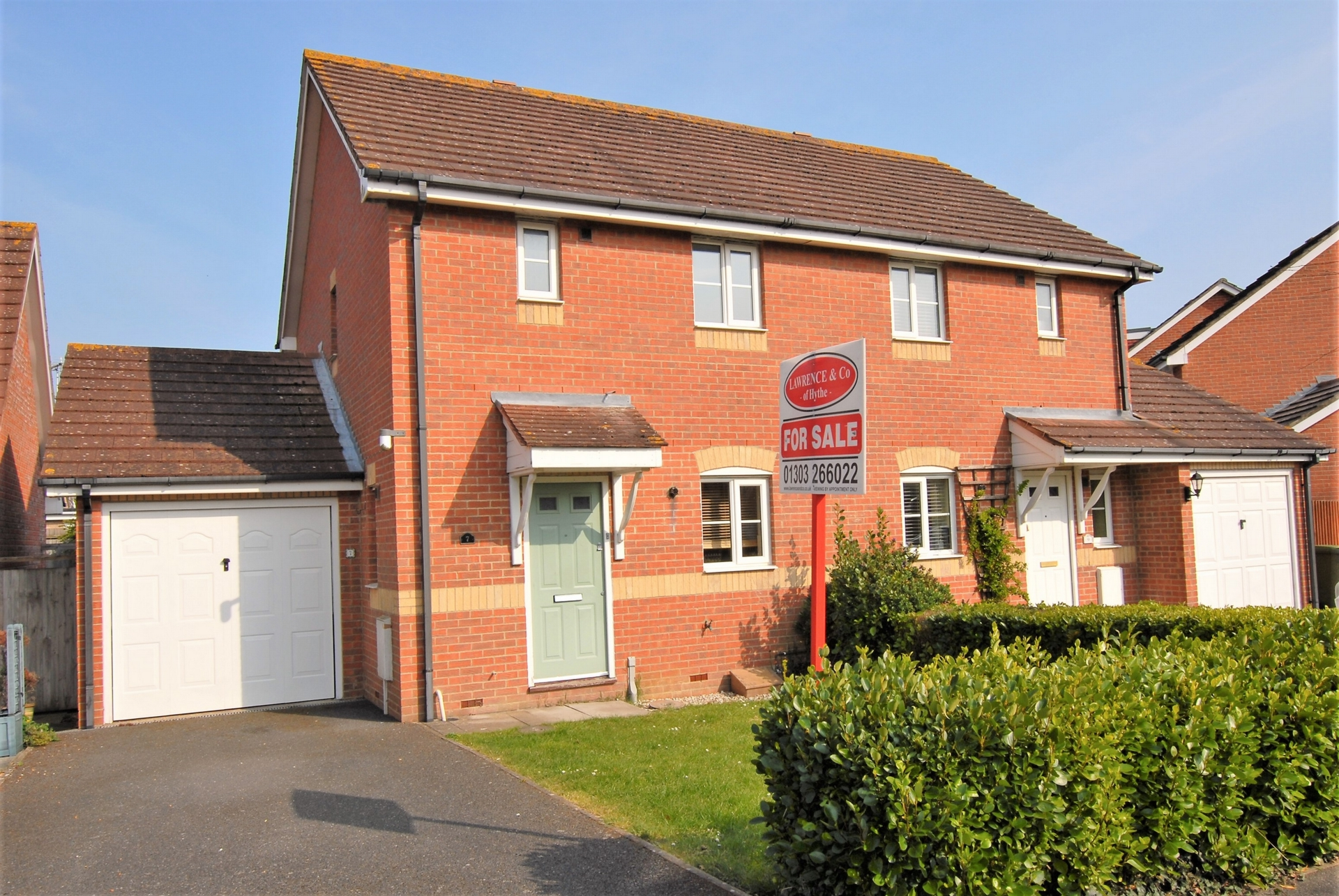 Front, Peregrine Close, Hythe, CT21