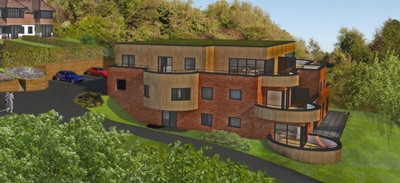 The apartments, Cannongate Road, Hythe, CT21
