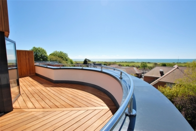 Terrace/view, Cannongate Road, Hythe, CT21