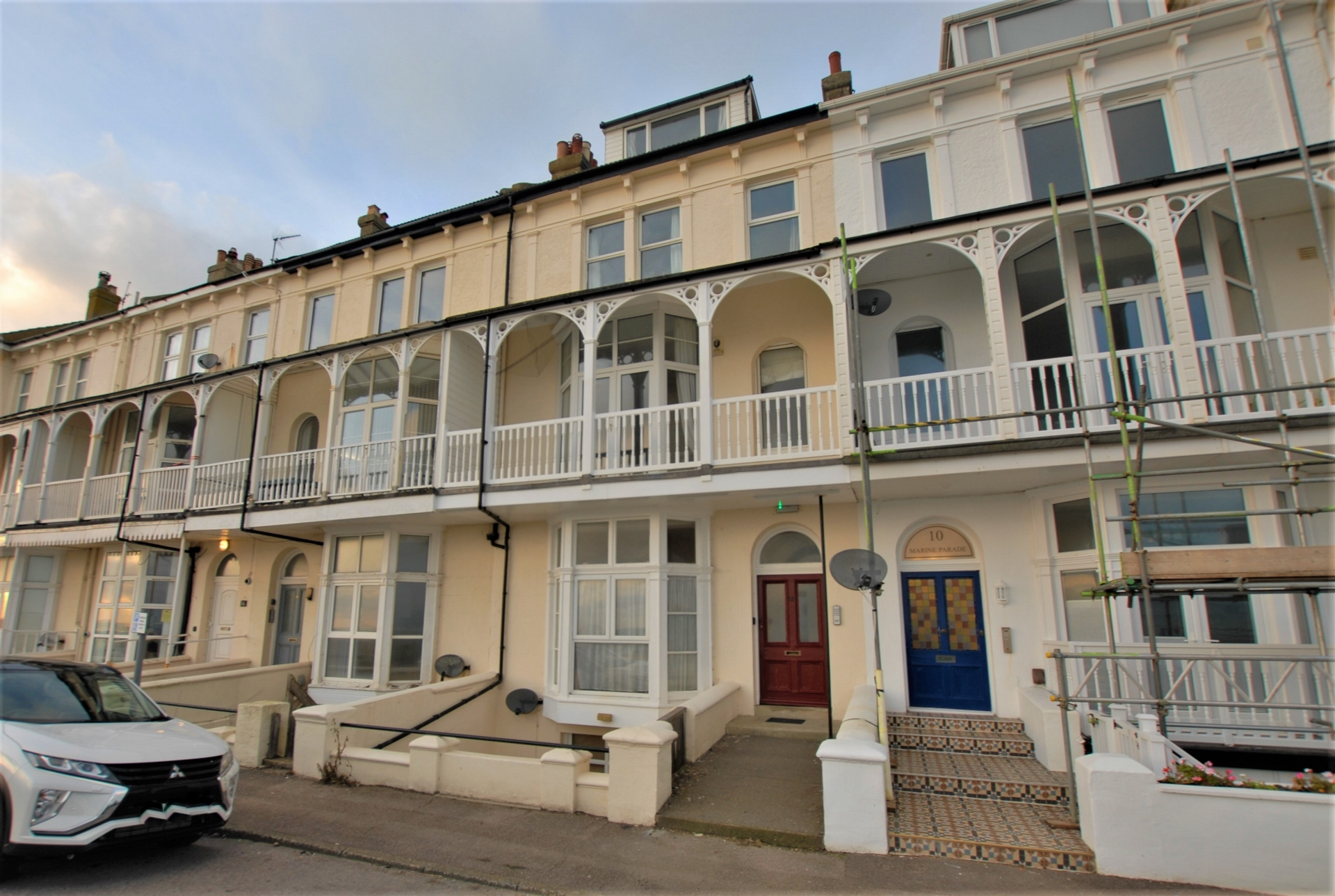 Front, Marine Parade, Hythe, CT21