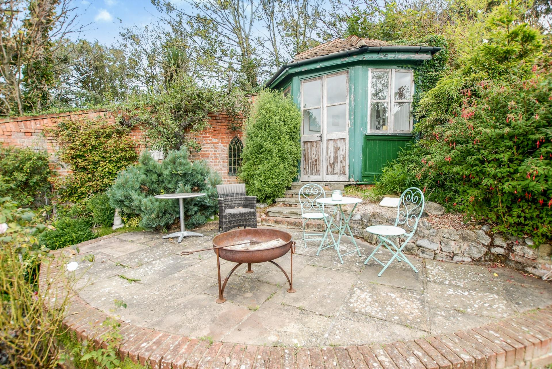 Terrace & Summerhouse