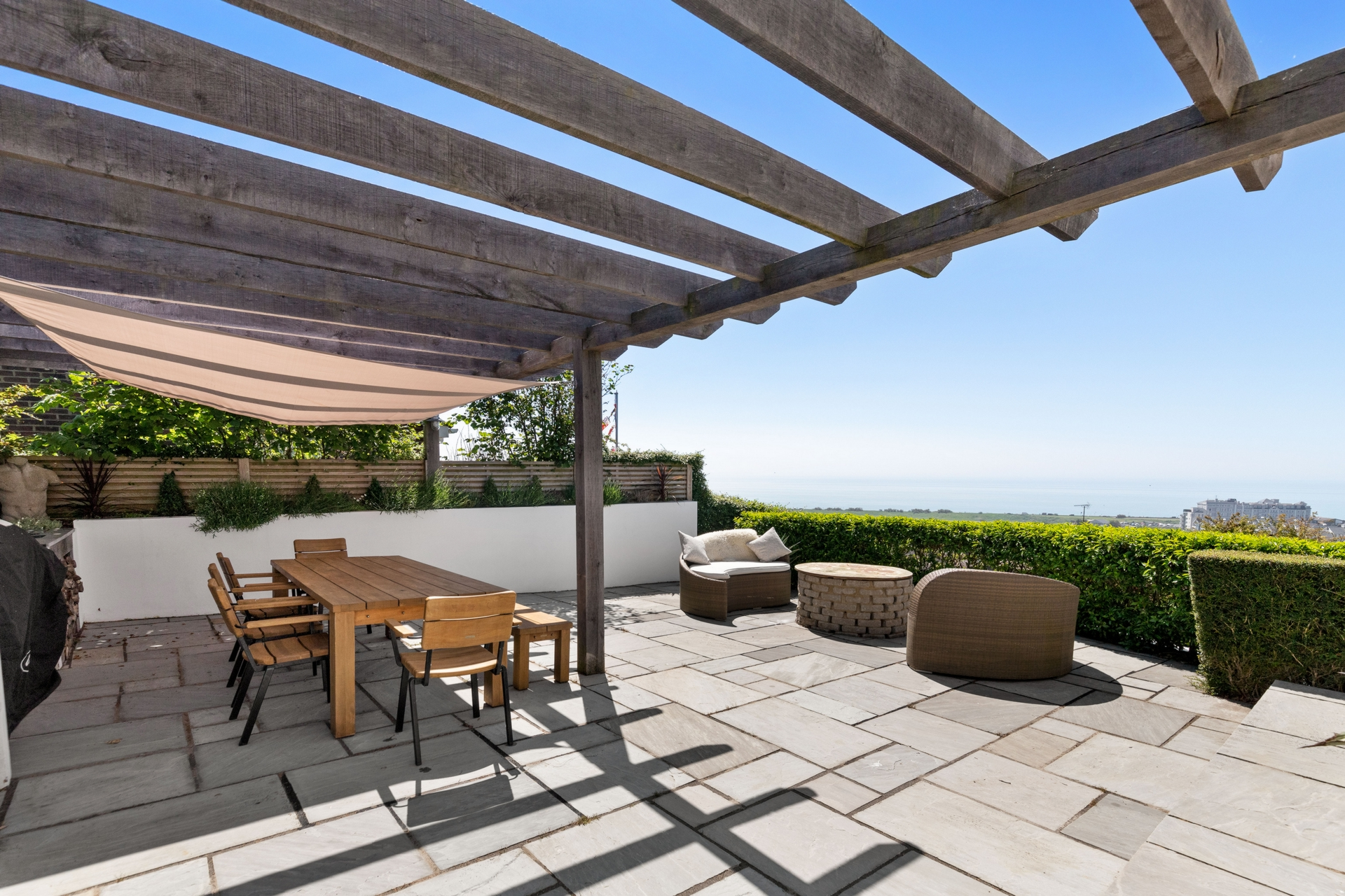 Terrace from kitchen
