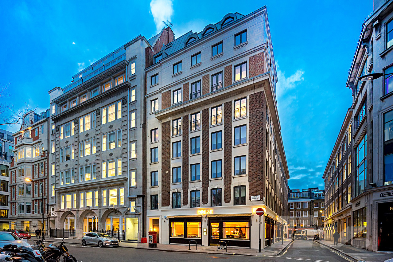 Golden Square  Regent Street  W1F