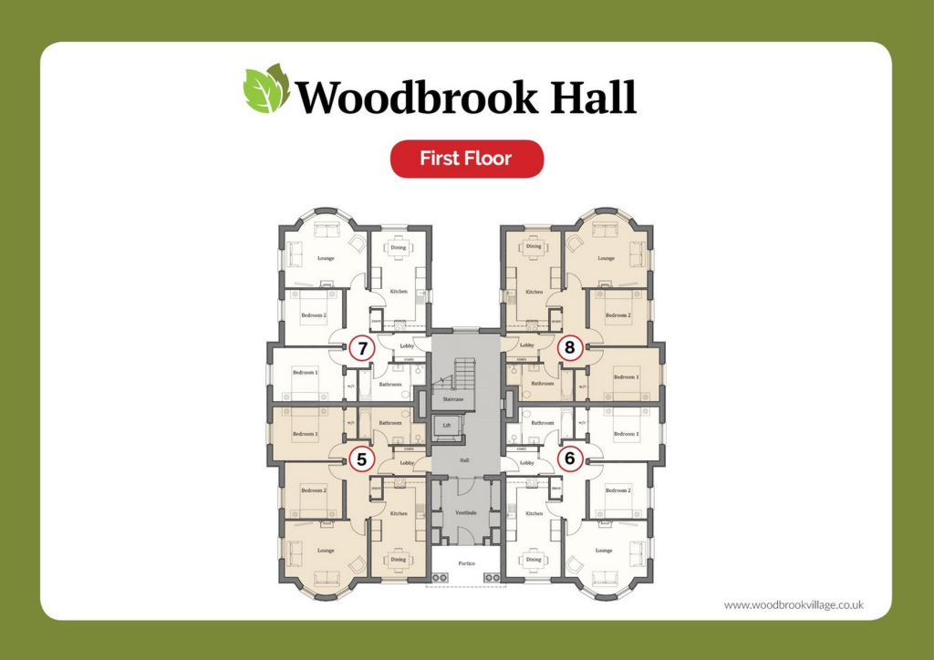 @ Woodbrook Village  Brookmount Road  BT78