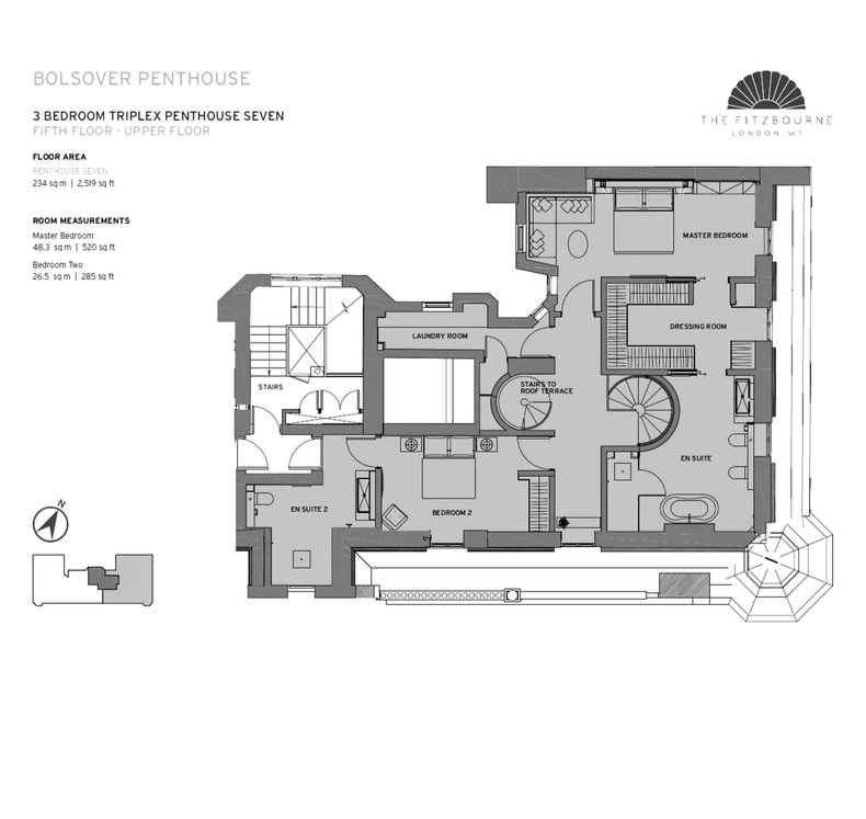 Floor Plan Fifth Floor