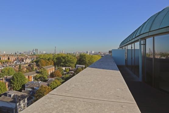 View from Upper Floor Balcony