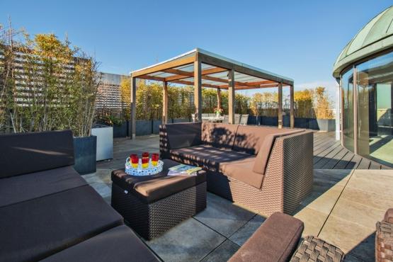 Roof Terrace Lounge Area