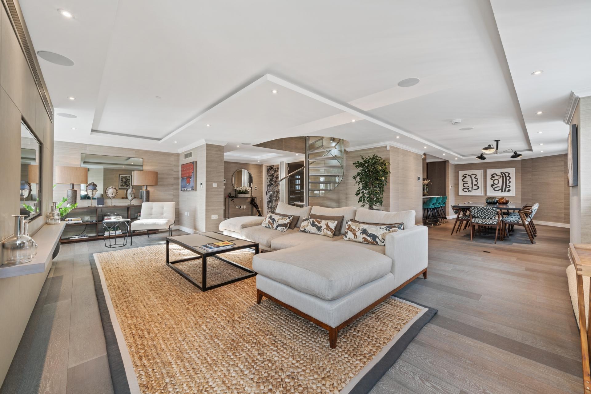 The Bolsover Penthouse  New Cavendish Street  Marylebone  London  W1W