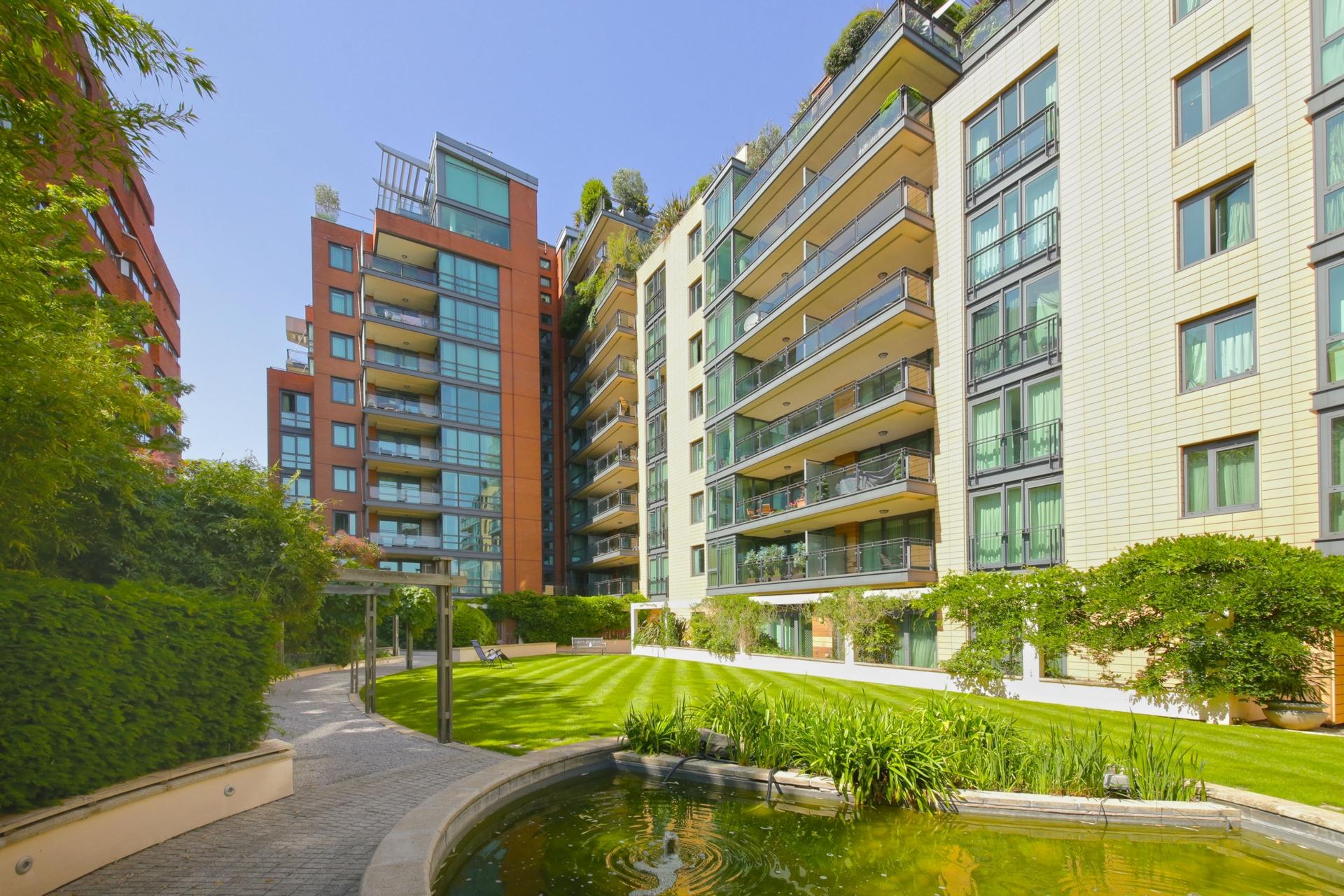 Pavilion Apartments  St Johns Wood Road  London  NW8