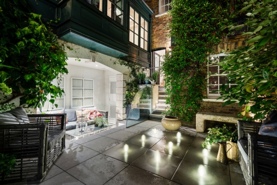 Courtyard (2) - Night