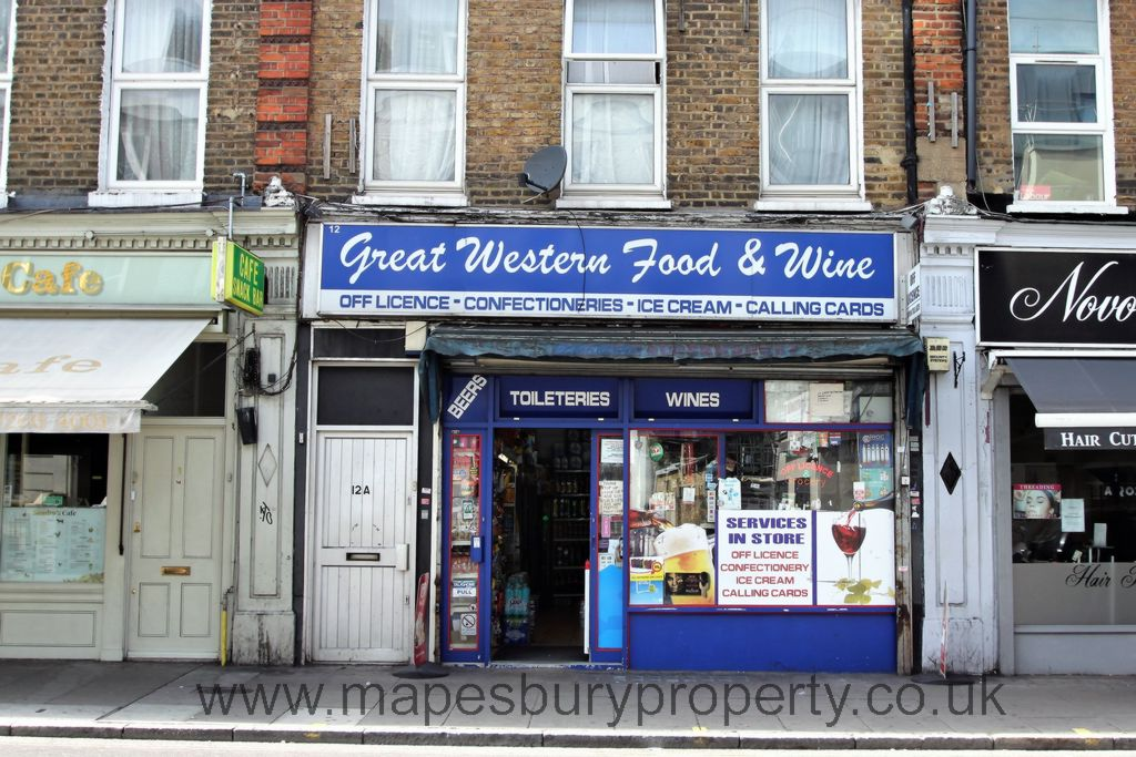 Great Western Road  Maida Hill  W9