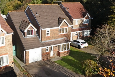 Aerial Shot, Langstone Close, Maidenbower, RH10