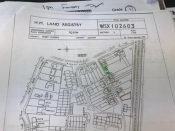 Land Title Plot
