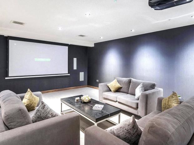 Communal Cinema Room