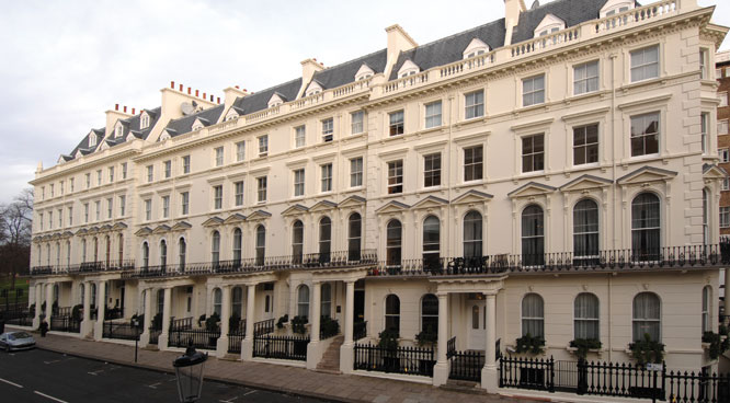 Prince of Wales Terrace  Kensington  W8