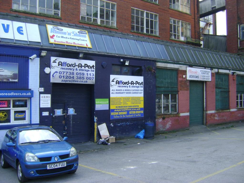 Darley Street  Bolton  BL1
