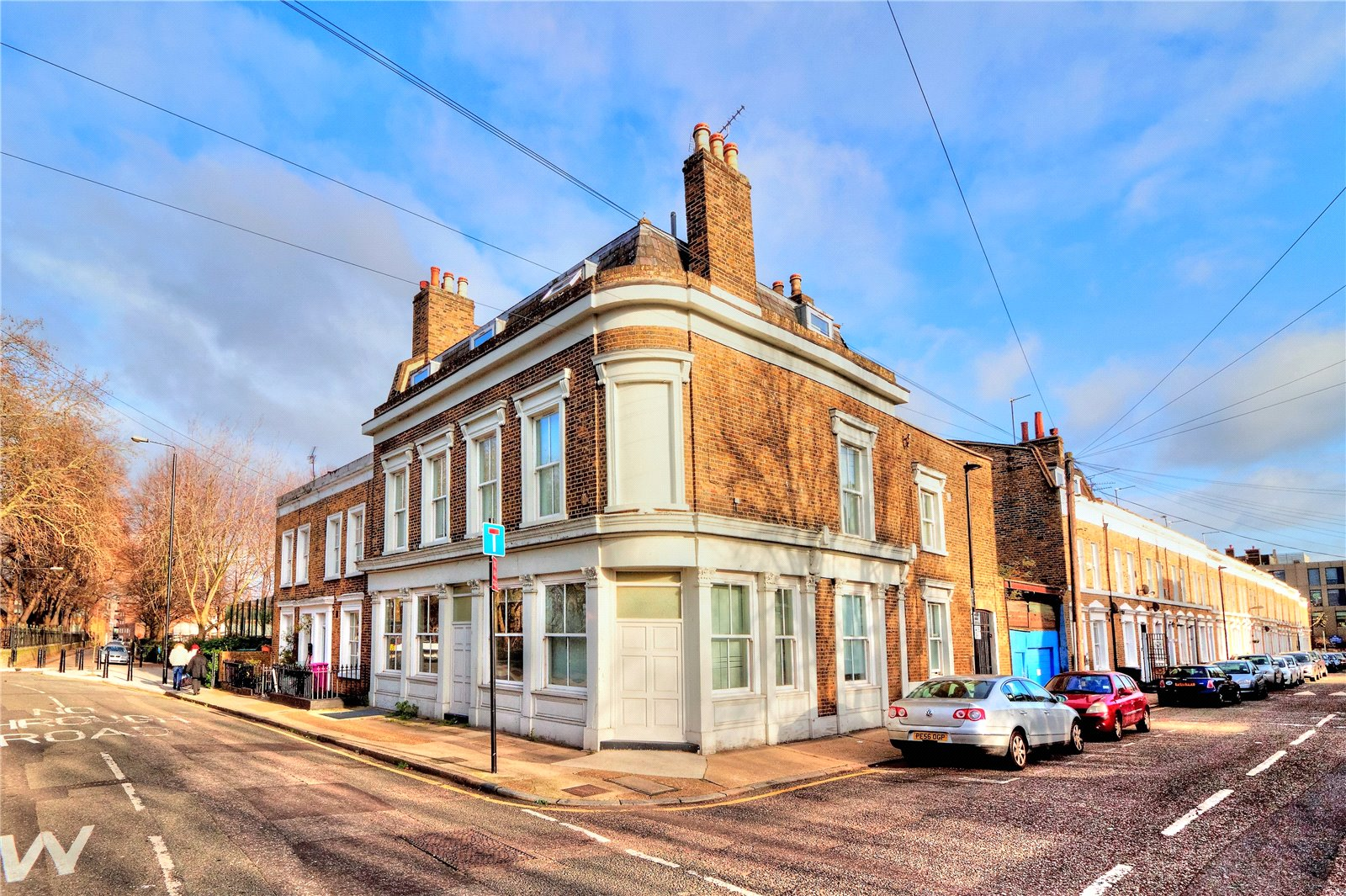 Whitehorse Road  Stepney  London  E1