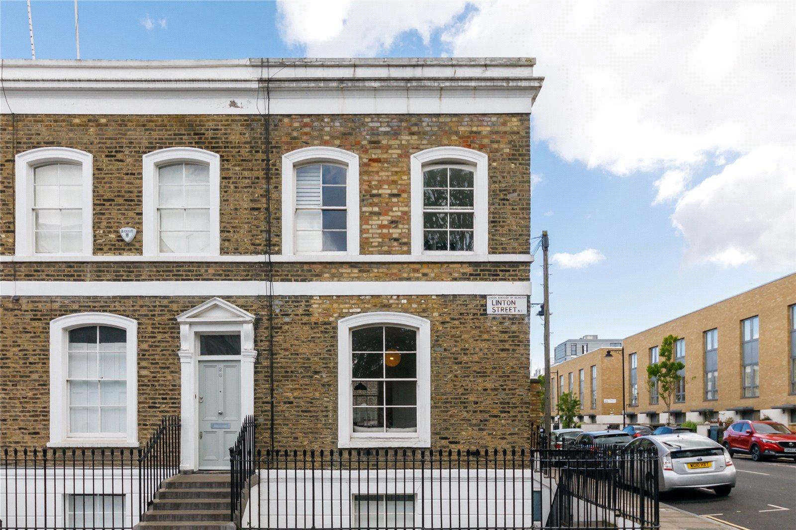 Linton Street  Islington  London  N1