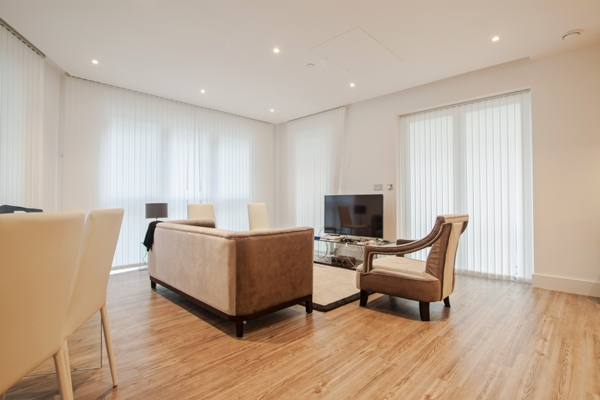 Reception, Aldgate Place, Leman Street, London, E1