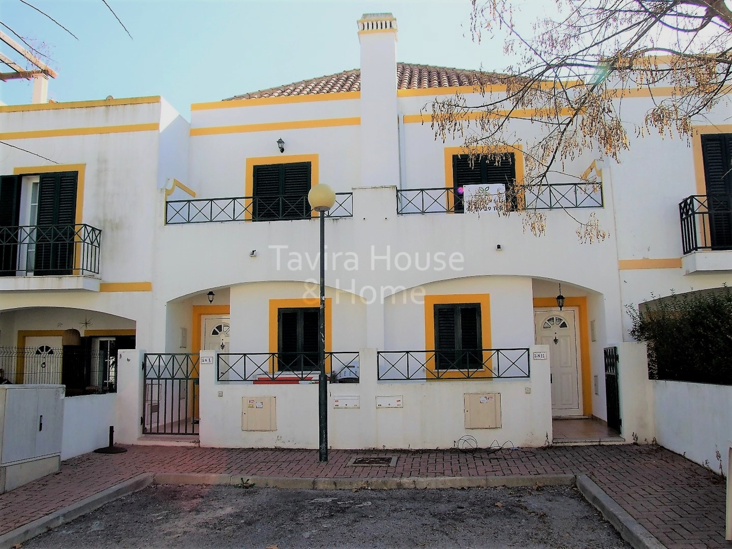V0522 - 3 Bedroom Townhouse with Patio  Tavira  Portugal